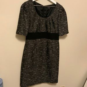 Tahari Dresses - Tahari Black Tweed Dress Size 8